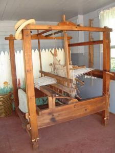 Old Scottish Floor Loom