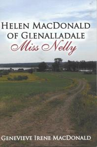 Book Cover - Helen MacDonald of Glenalladale - Miss Nelly